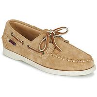 Παπούτσια Γυναίκα Boat shoes Sebago PORTLAND FLESH OUT W Beige