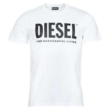 Υφασμάτινα Άνδρας T-shirt με κοντά μανίκια Diesel T-DIEGOS-ECOLOGO Άσπρο