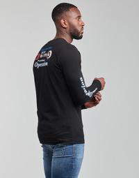 Υφασμάτινα Άνδρας Μπλουζάκια με μακριά μανίκια Diesel T-DIEGOS-LS-K25 Black