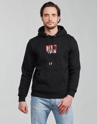 Υφασμάτινα Άνδρας Φούτερ Diesel S-GIRK-HOOD-B8 Black