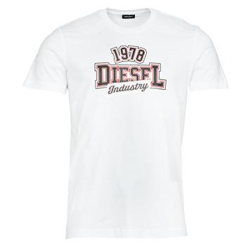 Υφασμάτινα Άνδρας T-shirt με κοντά μανίκια Diesel T-DIEGOS-K26 Άσπρο