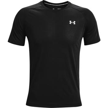 Υφασμάτινα Άνδρας T-shirt με κοντά μανίκια Under Armour Streaker SS Μαύρος