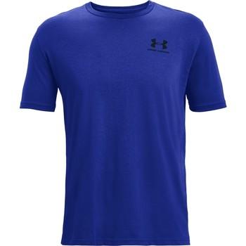 Υφασμάτινα Άνδρας T-shirt με κοντά μανίκια Under Armour Sportstyle Left Chest Μπλε