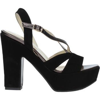 Παπούτσια Γυναίκα Σανδάλια / Πέδιλα Grace Shoes TQ 126 Μαύρος