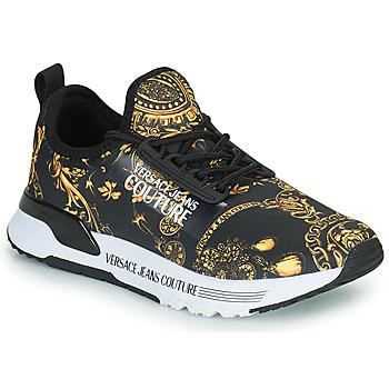 Παπούτσια Γυναίκα Χαμηλά Sneakers Versace Jeans Couture REMO Black / Imprimé /  baroque