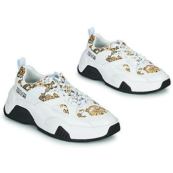 Παπούτσια Γυναίκα Χαμηλά Sneakers Versace Jeans Couture FELINA Άσπρο / Imprimé /  baroque