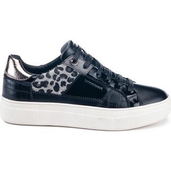 Παπούτσια Γυναίκα Χαμηλά Sneakers Lumberjack SW86612 002 Y44 Μαύρος