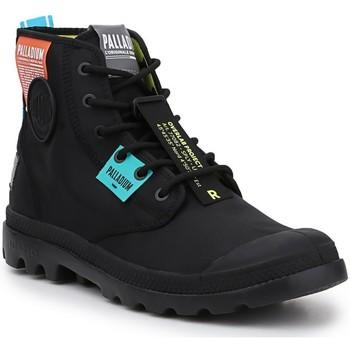 Παπούτσια Ψηλά Sneakers Palladium Manufacture Lite OVB Neon U 77082-008 black