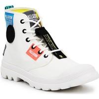 Παπούτσια Ψηλά Sneakers Palladium Manufacture Lite OVB Neon U 77082-116 white