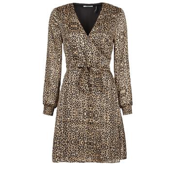 Υφασμάτινα Γυναίκα Κοντά Φορέματα Les Petites Bombes CECILIE Leopard
