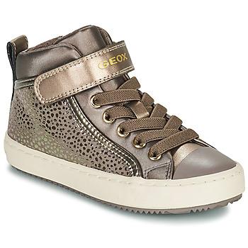 Παπούτσια Κορίτσι Ψηλά Sneakers Geox KALISPERA Gold