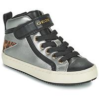 Παπούτσια Κορίτσι Ψηλά Sneakers Geox KALISPERA Silver