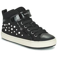 Παπούτσια Κορίτσι Ψηλά Sneakers Geox KALISPERA Black