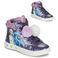 Παπούτσια Κορίτσι Ψηλά Sneakers Geox SKYLIN Violet