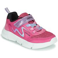 Παπούτσια Κορίτσι Χαμηλά Sneakers Geox ARIL Ροζ / Violet