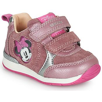 Παπούτσια Κορίτσι Χαμηλά Sneakers Geox RISHO Ροζ