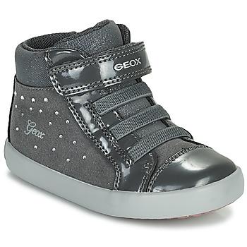Παπούτσια Κορίτσι Ψηλά Sneakers Geox GISLI Grey