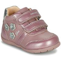 Παπούτσια Κορίτσι Χαμηλά Sneakers Geox ELTHAN Ροζ