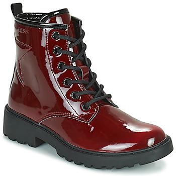 Παπούτσια Κορίτσι Μπότες Geox CASEY Bordeaux