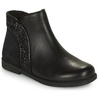Παπούτσια Κορίτσι Μπότες Geox SHAWNTEL Black
