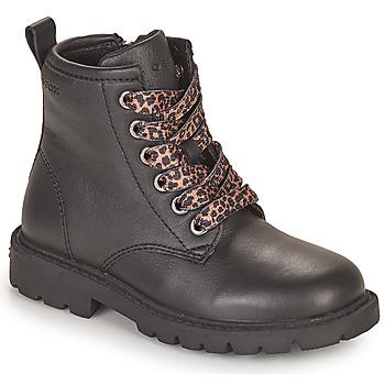Παπούτσια Κορίτσι Μπότες Geox SHAYLAX Black