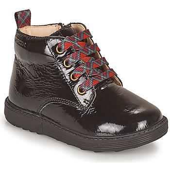Παπούτσια Κορίτσι Μπότες Geox HYNDE Black