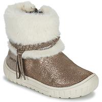 Παπούτσια Κορίτσι Μπότες για την πόλη Geox OMAR Brown