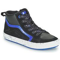 Παπούτσια Αγόρι Ψηλά Sneakers Geox ALONISSO Black / Marine