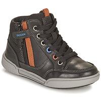 Παπούτσια Αγόρι Ψηλά Sneakers Geox POSEIDO Brown