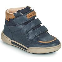 Παπούτσια Αγόρι Ψηλά Sneakers Geox POSEIDO Marine