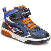 Παπούτσια Αγόρι Ψηλά Sneakers Geox INEK Μπλέ / Orange
