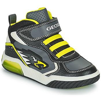 Παπούτσια Αγόρι Ψηλά Sneakers Geox INEK Grey / Green