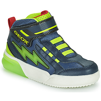Παπούτσια Αγόρι Ψηλά Sneakers Geox GRAYJAY Marine / Green