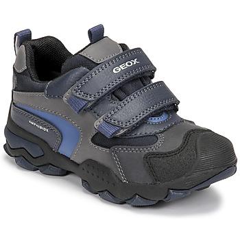 Παπούτσια Αγόρι Μπότες Geox BULLER ABX Marine / Grey