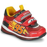 Παπούτσια Αγόρι Χαμηλά Sneakers Geox TODO Red / Yellow