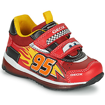 Xαμηλά Sneakers Geox TODO ΣΤΕΛΕΧΟΣ: Συνθετικό και ύφασμα & ΕΠΕΝΔΥΣΗ: Ύφασμα & ΕΣ. ΣΟΛΑ: Δέρμα προβάτου & ΕΞ. ΣΟΛΑ: Καουτσούκ