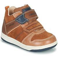 Παπούτσια Αγόρι Ψηλά Sneakers Geox NEW FLICK Marron