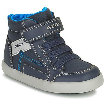 Παπούτσια Αγόρι Ψηλά Sneakers Geox GISLI Marine