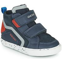 Παπούτσια Αγόρι Ψηλά Sneakers Geox KILWI Marine