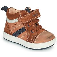 Παπούτσια Αγόρι Ψηλά Sneakers Geox BIGLIA Brown