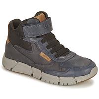 Παπούτσια Αγόρι Μπότες Geox FLEXYPER Marine / Camel