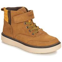 Παπούτσια Αγόρι Μπότες Geox RIDDOCK WPF Camel