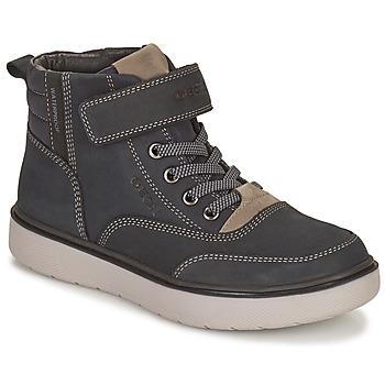 Παπούτσια Αγόρι Μπότες Geox RIDDOCK WPF Marine