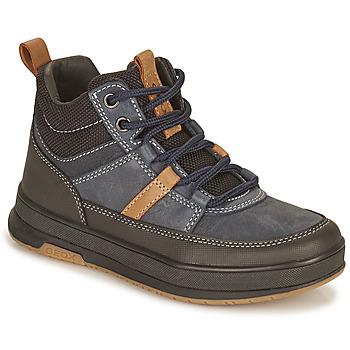 Παπούτσια Αγόρι Μπότες Geox ASTUTO Μπλέ