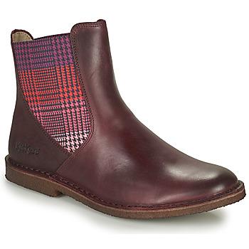 Παπούτσια Γυναίκα Μπότες Kickers TINTO Bordeaux / Fonce