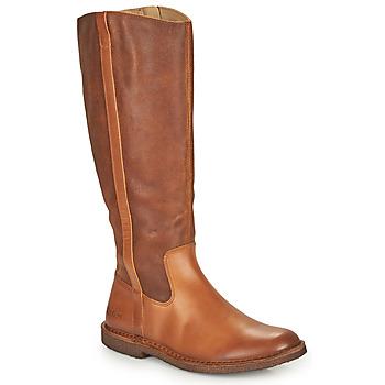 Παπούτσια Γυναίκα Μπότες για την πόλη Kickers TINTTA Camel