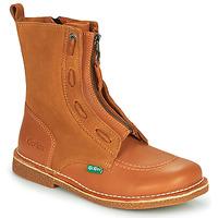 Παπούτσια Γυναίκα Μπότες Kickers MEETICKROCK Camel