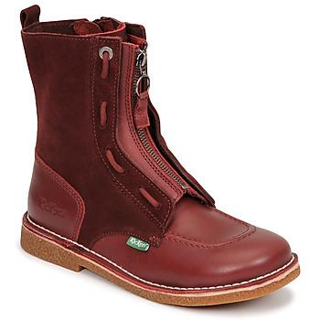 Παπούτσια Γυναίκα Μπότες Kickers MEETICKROCK Bordeaux / Fonce