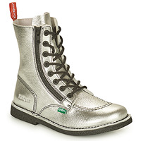 Παπούτσια Γυναίκα Μπότες Kickers MEETICKZIP Argenté