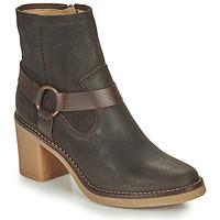 Παπούτσια Γυναίκα Μπότες για την πόλη Kickers AVECOOL Brown